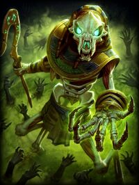Anubis Gravehound Card