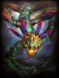 Kukulkan Quetzakukulkan Card