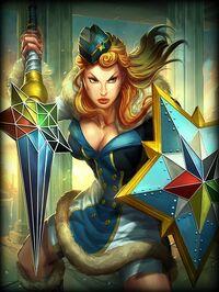 Athena WinterOlympian Card