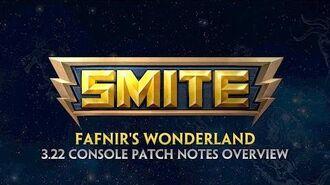 SMITE - 3.22 Console Patch Overview - Fafnir's Wonderland