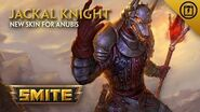 SMITE - New Skin for Anubis - Jackal Knight