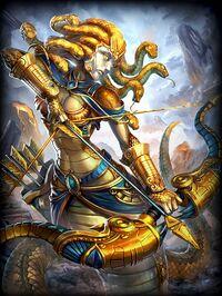 Medusa Golden Card