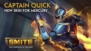 SMITE - New Skin for Mercury - Captain Quick