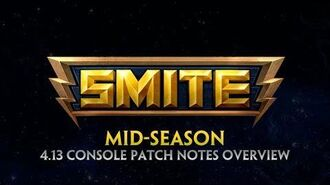 SMITE - 4.13 Console Patch Overview - Mid-Season