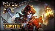 New Skin for Kali - Skaliwag