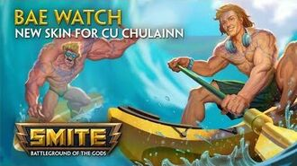 SMITE - New Skin for Cu Chulainn - Bae Watch