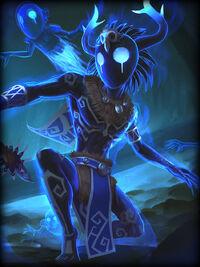 Ah Puch shadow-spirit Card