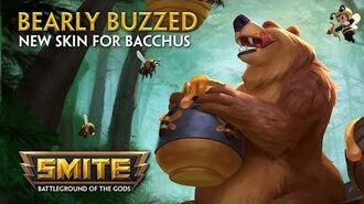 SMITE - New Skin for Bacchus - Bearly Buzzed