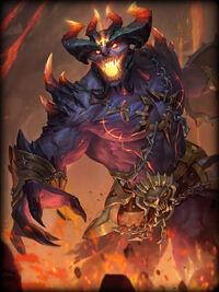 Zeus infernal-lord Card