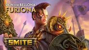 SMITE New Skin for Bellona - Furiona