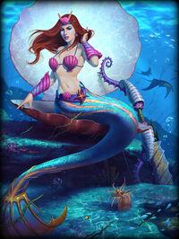 Medusa SeaMaiden Card