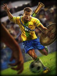 Xbalanque FootballStar2014 Card