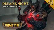 SMITE - New Skin for Odin - Dread Knight