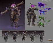 SunAbyssalWarrior Concept