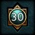 Achievements GodMastery 30