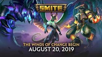 SMITE - New Tier 5 Skin - Winds of Change Kukulkan