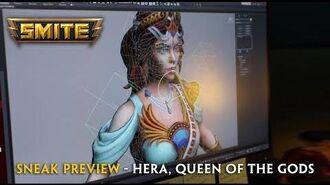 SMITE - Character Rigging Sneak Preview - Hera, Queen of the Gods