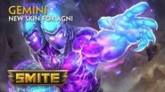 SMITE - New Skin for Agni - Gemini