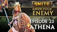 SMITE Know Your Enemy 23 - Athena