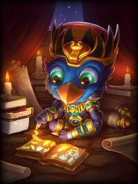 Thoth beaky-chibi Card
