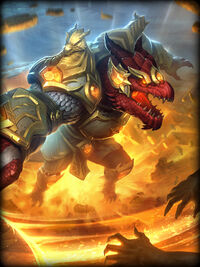 Sobek dragons-light Card