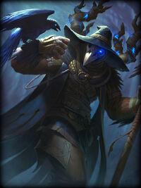 Odin raven-warlock Card