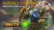 SMITE - New Skin for Rama - Nature's Guardian