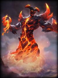 He Bo molten Card