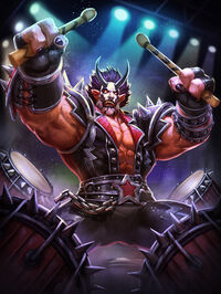 Raijin DevilHorns Card