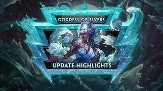 SMITE - Update Highlights - Goddess of Rivers