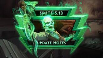 "SMITE - 5.13 ""Mid-Season Update"" - Live Show VOD"