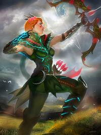 Artemis BriarQueen Card