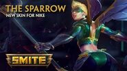 SMITE - New Skin for Nike - The Sparrow