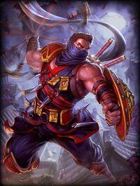 Xbalanque Ninja Card