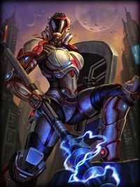 Athena Enforcer Card