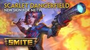 SMITE - New Skin for Neith - Scarlet Dangerfield