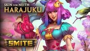 SMITE - New Skin for Neith - Harajuku