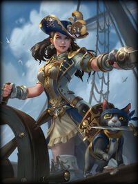 Change pirate-queen Card