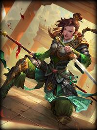 Mulan rising-hero Card