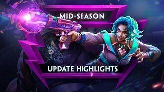 SMITE - Update Highlights - Mid-Season Update