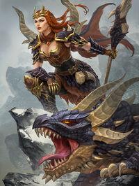Skadi Dragonkin Card