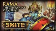 SMITE - God Reveal - Rama, The 7th Avatar of Vishnu
