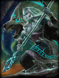 Skadi Frostbound Card