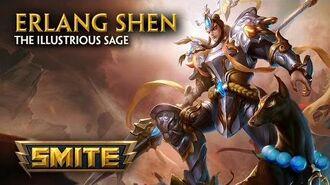 SMITE - 中国神殿 - 二郎神 Erlang Shen