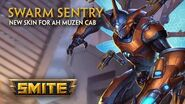 SMITE - New Skin for Ah Muzen Cab - Swarm Sentry