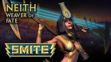 SMITE God Reveal - Neith, Weaver of Fate