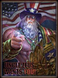 Zeus Uncle Card