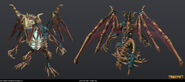 Fafnir 'Dread-Lord' dragon model
