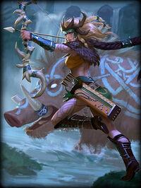 Artemis Oak-Seer Card