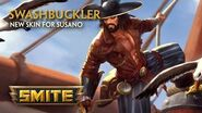 SMITE - New Skin for Susano - Swashbuckler